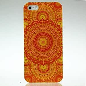 DUR Cool Skull Flowers Pattern Case for iPhone 4/4S