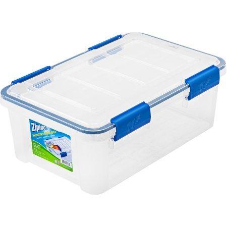 6-Piece Set Extra Small Weathertight Seal Storage Box