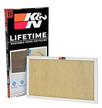 K/&N HVC-11620 Lifetime Washable AC Furnace Air Filter MERV 11 16x20x1