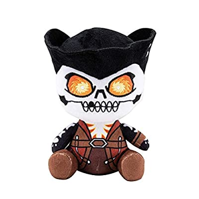 Gaya Entertainment Sea of Thieves Stubbins Plush Figure Captain Flameheart 20 cm: Toys & Games
