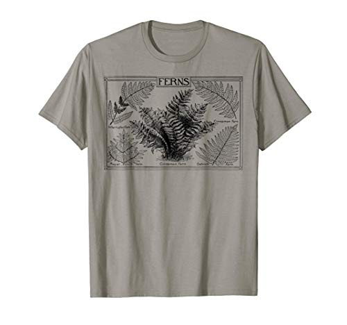 Fern tshirt Botanical Plant Botany T-Shirt