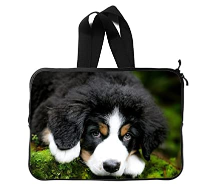 462245973dcc Amazon.com: Animals Dogs Cute Puppy Custom Laptop Sleeve Case ...