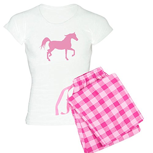 - CafePress - Pink Arabian Horse - Womens Novelty Cotton Pajama Set, Comfortable PJ Sleepwear
