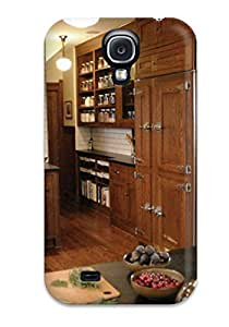 JPfrkPk8685gVJPF Industrial-style Kitchen With Wood Paneled Refrigerator Fashion Tpu S4 Case Cover For Galaxy