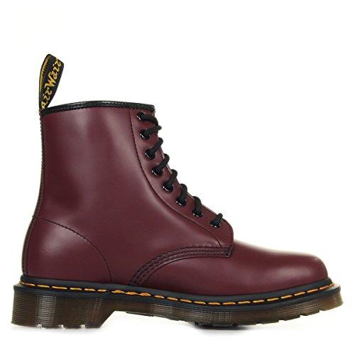 11822212 BROWN cuero de Martens 8 Botas Eye unisex 1460 Bordeaux Boot Dr HCYWwqaXC