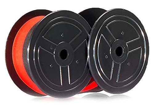 Rolete de Tinta para Impressoras DR-120TM e DR-210TM, Casio, RB-02, Preto/Vermelho