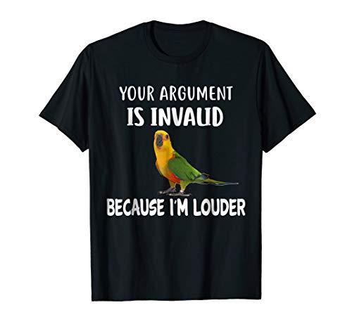 Jenday Conure T Shirt, I'm Louder Jenday Conure Shirt