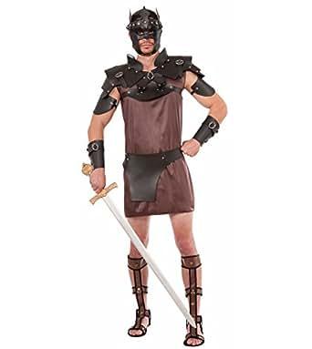 Forum Novelties Men's Shoulder Armour-Male, Black, Standard