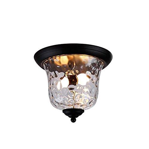 CUI XIA UK Ceiling light Amerikanischen Retro-Eisen einzigen Kopf Deckenleuchte personalisierte kreative industriellen Wind Schlafzimmer Restaurant Bar Lichter Eingang Tür Beleuchtung