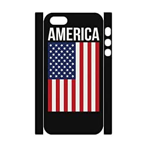 GTROCG American Flag Is It Friday Meowy Christmas Merry & Bright Phone 3D Case For iPhone 5,5S [Pattern-5]
