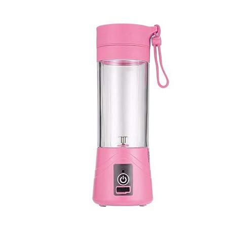 07e2a20a4852b Amazon.com: Water Bottles - 380ml Usb Rechargeable Juicer Bottle ...