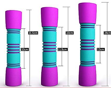 SVNA Pesas Mancuernas Resistente al Desgaste de Acero Inoxidable con Mancuernas Multifuncional para la construcción de Fuerza de tonificación Muscular para ...
