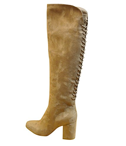 Ciara - Botas de Material Sintético para mujer Negro negro Beige - gris