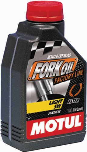 MOTUL Olio forcella Mtb - Moto Light 5W 1LT Sintetico (Olio Forcelle) / Mtb Fork Oil Synthetic Light 5W 1LT (Oil Forks)