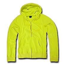 DECKY Neon Basic Zip Up Hoodies