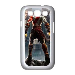 God Of War 003 Samsung Galaxy S3 9300 funda cubierta de la caja blanca del teléfono celular Funda Cubierta EOKXLLNCD02619