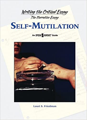 Amazoncom Selfmutilation Writing The Critical Essay  Amazoncom Selfmutilation Writing The Critical Essay   Lauri S Friedman Books