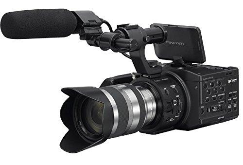 Sony NEX-FS100UK Super 35mm Sensor Camcorder with 18-200mm Zoom Lens, 3.5