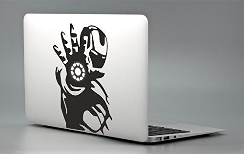Iron Man Hand Macbook Air-pro 11 13 15 17 Stickers,decal (Iron Man Hands)
