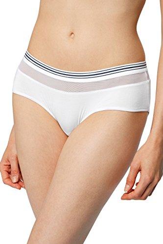 next Mujer Pantalones Cortos Deportivos De Modal Supersuave Corte Regular Blanco