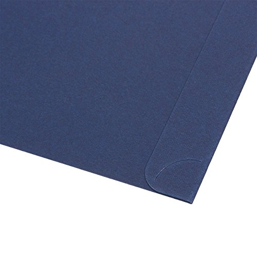 12-Pack Certificate Holder - Diploma Cover, Document Cover for Letter-Sized Award Certificates, Blue, 11.2 x 8.7 inches by Best Paper Greetings (Image #2)