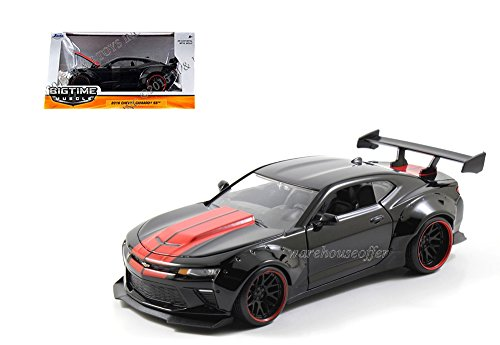 JADA 1:24 W/B BIG TIME MUSCLE - 2016 CHEVROLET CAMARO SS WIDE BODY WITH GT WING - - Body Wide Wing