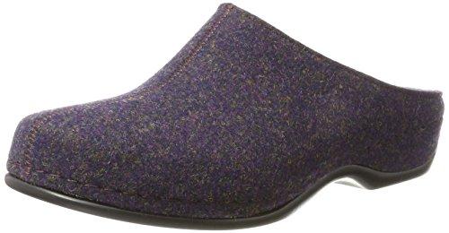 Berkemann Florina, Pantoufles Femme Violet (Dunkle Pflaume 288)