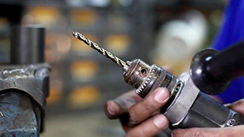 Pack of 12 D//ASTCO Series Drill America #34 Cobalt Heavy Duty Split Point Stub Drill Bit