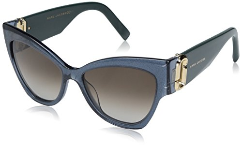 Marc-Jacobs-Womens-Marc109s-Cateye-Sunglasses-Black-GlitterBrown-Gradient-54-mm