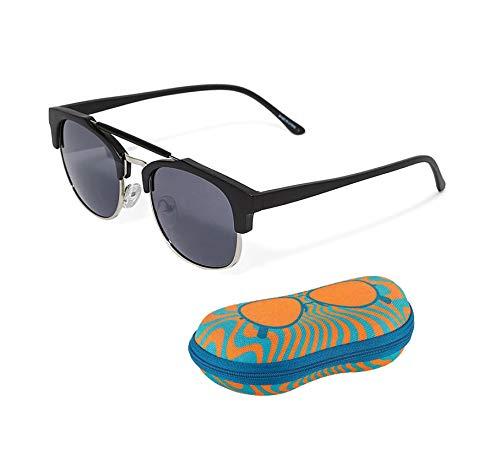 cddf7e5f66 TFL Eyewear UV Protected Men s Oval Sunglasses (Black
