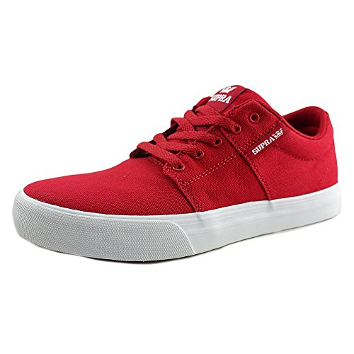 Supra Ellington, Sneakers basses homme Rouge/Toile