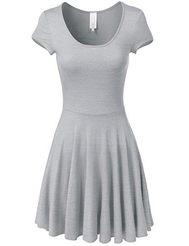 full skirt shirtwaist dress - 4