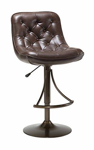 Hillsdale Furniture 4290-831H Aspen Adbustable Bar Stool, Copper