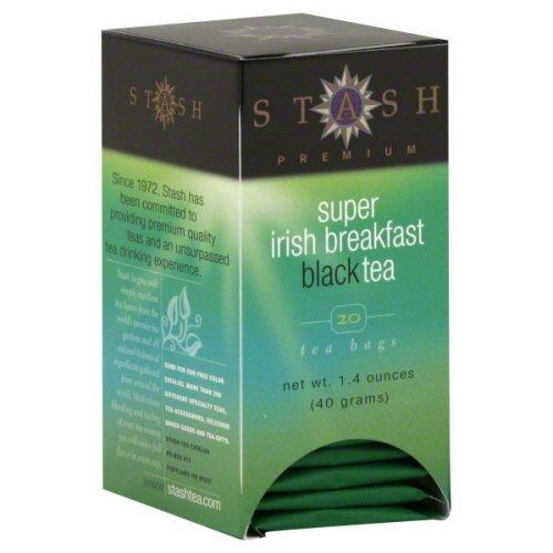 Stash Super Irish Breakfast Black Tea - Pack of - Breakfast Irish Super