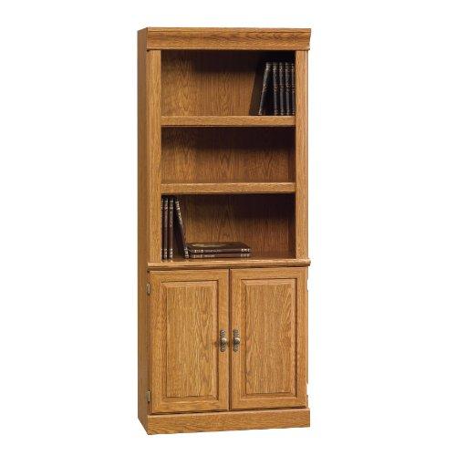 Attirant Sauder Orchard Hills Library With Doors, Carolina Oak