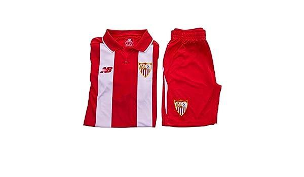 New Balance Sevilla FC Segunda Equipación 15-16 Niño, Conjunto ...