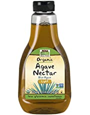 Now Foods Organic Blue Agave Nectar, Light,660g