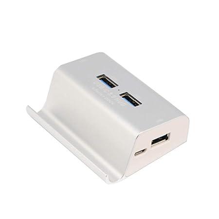 wwzEITpV Multi Puerto USB Cargador de sobremesa de 4 Puertos ...