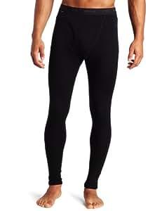 Icebreaker Men's Everyday Leggings with Fly, Black, Large