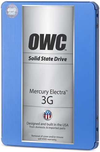 285MB//s Read Speed and 275MB//s Write Speed OWC//Other World Computing 480GB Mercury Electra Internal SATA 2.5 3G SSD