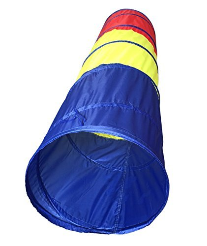 SueSport 6 feet Children Play Tent Tunnel Kid Pop up Discovery Tube Playtent Toy (Kids Tunnels)