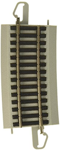 Bachmann Silver Ez Track (Bachmann Trains Snap - Fit E - Z Track 33.25 Radius 6 Degree Curved Track (4/Card))