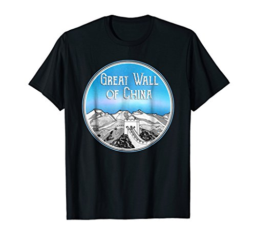 The Great Wall of China T-SHIRT (Great Wall Of China Periods Of Construction)