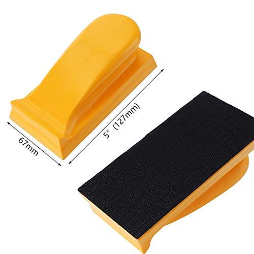 Sunnyys Manual Weave Block 127mm Da Discs Flattening 5 Hook Loop Rubber Gripfast Filler