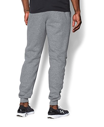 UA Men's Rival Fleece Jogger Pants, True Gray