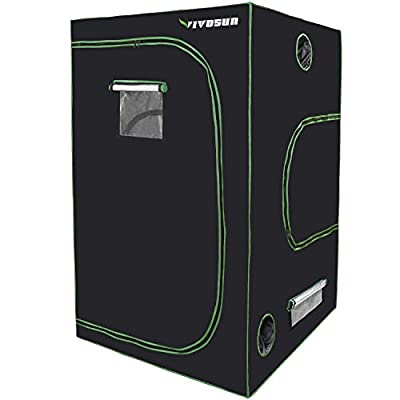 VIVOSUN Horticulture Mylar Hydroponic Grow Tent for Indoor Plant Growing