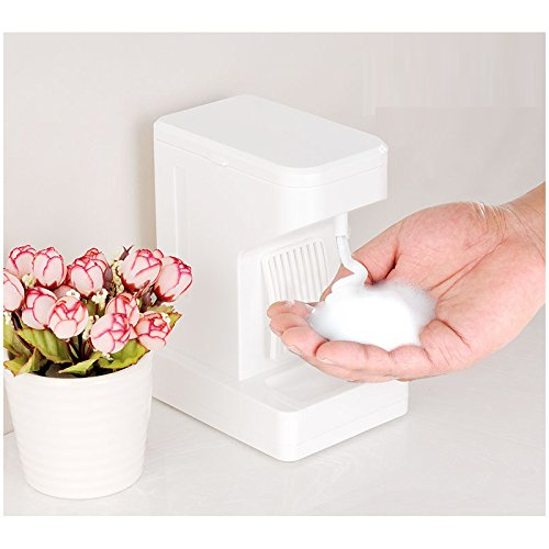 Nynoi Stand Foam Dispenser Automatic Table Touch Soap Automatic Foaming - Scratch Filler Eyeglass