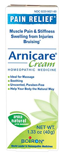 Boiron Arnicare Cream, 1.33 Ounce, Homeopathic Medicine for Pain Relief