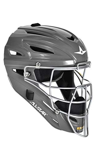All-Star System 7 Adult Catcher's Helmet MVP2500 (Graphite)