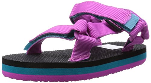 Teva Orginal Universal Kids Sport Sandal (Toddler/Little Kid/Big Kid), Pink/Turquoise, 9 M US Toddler